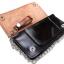 กระเป๋าสตางค์ยาวสีน้ำตาลลายเสือ แบบ 2 พับ พร้อมโซ่ thumbnail 7