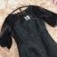 ชุดเดรสสีดำ ผ้าโพลีเอสเตอร์ผสม เนื้อผ้ามีลวดลายในตัวตามแบบ thumbnail 9