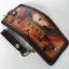 กระเป๋าสตางค์ลวดลายนกอินทรีย์ 2 พับ พร้อมโซ่Line id : 0853457150 thumbnail 5