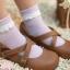 [พิเศษ 2 คู่ 100 ] ถุงเท้าระบายน่ารัก thumbnail 1