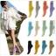 [พิเศษ 3 คู่ 120 ] ถุงเท้าสไตล์เกาหลี ข้อเท้าสีสดมากกว่า 12 สี thumbnail 1