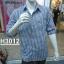 เสื้อเชิ้ตแขนยาวชาย ลายสก้อต ผ้า cotton100% thumbnail 7