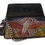 กระเป๋าสตางค์ยาว สีดำ รูป นกอินทรีย์และช่อไม้ แบบ 2 พับ พร้อมโซ่ Line id : 0853457150 thumbnail 4