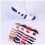 S192 **พร้อมส่ง** (ปลีก+ส่ง) ถุงเท้า ผ้าใบ ข้อสั้นใต้ตาตุ่ม มีซิลิโคนกันหลุดด้านหลัง มี 3 สี(แบบ) เนื้อดี งานนำเข้า(Made in China) thumbnail 1