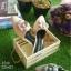 รองเท้าหัวแหลมแบบสวม ติดดอกคามิเลียพร้อม Logo CC thumbnail 8