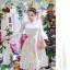 ชุดเดรสสไตล์เจ้าหญิง ผ้าลูกไม้ปักลายสีขาว งานปักละเอียดสวยมากๆ thumbnail 2