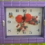 นาฬิกา 8.5 x7.5 นิ้ว คละลาย 6 ชิ้น รหัส 0218 thumbnail 1