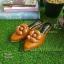 รองเท้าหัวแหลมแบบสวม ติดดอกคามิเลียพร้อม Logo CC thumbnail 2