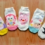 U013**พร้อมส่ง** (ปลีก+ส่ง) ถุงเท้า แฟชั่นเด็ก (2-4 ปี) ลายการ์ตูน มีกันลื่น เนื้อดี งานนำเข้า ( Made in China) thumbnail 1