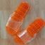 K012-OR**พร้อมส่ง** (ปลีก+ส่ง) รองเท้านวดสปา เพื่อสุขภาพ ปุ่มเล็ก (ใส) สีส้ม ส่งคู่ละ 80 บ. thumbnail 6
