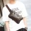 Pre-order ขายส่ง กระเป๋าผู้ชายคาดไหล่ คาดอก คาดเอว แฟขั่นเกาหลี รหัส Man-8076 สีน้ำตาล thumbnail 1