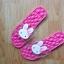 K020-DPK **พร้อมส่ง** (ปลีก+ส่ง) รองเท้านวดสปา เพื่อสุขภาพ ปุ่มใหญ่สลับเล็ก (การ์ตูน) สีชมพูเข้ม ส่งคู่ละ 150 บ. thumbnail 6
