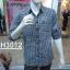 เสื้อเชิ้ตแขนยาวชาย ลายสก้อต ผ้า cotton100% thumbnail 8