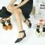 ZARA lady's shoes พร้อมส่ง รองเท้าหัวแหลมส้นเตารีด thumbnail 2