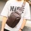 Pre-order กระเป๋าหนัง ผู้ชายคาดไหล่ Messenger bag ใส่ ipad 7.9 นิ้ว แฟขั่นเกาหลี รหัส Man-6619 สีกาแฟเข้ม thumbnail 1