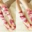 ถุงเท้ายาวญี่ปุ่น (ลายผ้ามัดย้อม) thumbnail 2