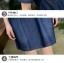 ชุดเดรสยีนส์ สีน้ำเงินเข้ม แขนสั้น มีกระเป๋าเสื้อที่หน้าอก thumbnail 10