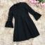 ชุดเดรสสีดำ ตัวเสื้อผ้าลูกไม้เนื้อนิ่มมากๆ แขนยาวสี่ส่วน thumbnail 7