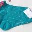 A023**พร้อมส่ง**(ปลีก+ส่ง) ถุงเท้าแฟชั่นเกาหลี โบว์ข้าง ลายจุด ข้อสั้น มี 10 สี เนื้อดี งานนำเข้า( Made in Korea) thumbnail 12
