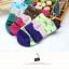 S359**พร้อมส่ง** (ปลีก+ส่ง) ถุงเท้าแฟชั่นเกาหลี ข้อยาว คละ 6 สี มี 12 คู่ต่อแพ็ค เนื้อดี งานนำเข้า(Made in China) thumbnail 6
