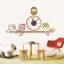 นาฬิกาพร้อมสติกเกอร์ นกฮูก3ตัว CD871 thumbnail 1