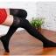 ถุงเท้ายาวเหนือเข่าขอบลูกไม้ สวยเซกซี่ [สีดำ,น้ำตาล,ขาว] thumbnail 4