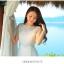 ชุดเดรสยาวสุดหรู แฟชั่นเกาหลีมาใหม่ ผ้าชีฟอง สีขาว อัดพลีตเล็กๆ ทั้งตัว thumbnail 4