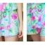 ชุดว่ายน้ำวันพีช โทนสีฟ้า ลายดอกไม้สวยสดใส หวานปนเซ็กซี่ thumbnail 7
