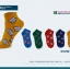 S380**พร้อมส่ง** (ปลีก+ส่ง) ถุงเท้าแฟชั่นเกาหลี ข้อสั้น เนื้อดี งานนำเข้า(Made in china) thumbnail 3