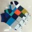 S569 **พร้อมส่ง** (ปลีก+ส่ง) ถุงเท้าแฟชั่น ข้อตาตุ่ม คละ 5 สี เนื้อดี งานนำเข้า มี 10 คู่ต่อแพ็ค thumbnail 1
