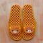 K011-BR1 **พร้อมส่ง** (ปลีก+ส่ง) รองเท้านวดสปา เพื่อสุขภาพ ปุ่มเล็ก คุมะ RIlakkuma สีน้ำตาล ส่งคู่ละ 150 บ. thumbnail 1