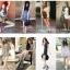 [พิเศษ 3 คู่ 120 ] ถุงเท้าสไตล์เกาหลี ข้อเท้าสีสดมากกว่า 12 สี thumbnail 4