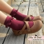 [พิเศษ 2 คู่ 100 ] ถุงเท้าระบายน่ารักเนื้อผ้านุ่มใส่สบาย thumbnail 3