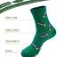S372**พร้อมส่ง** (ปลีก+ส่ง) ถุงเท้าแฟชั่นเกาหลี ชาย ข้อยาว เนื้อดี งานนำเข้า(Made in china) thumbnail 2