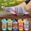 S274**พร้อมส่ง** (ปลีก+ส่ง) ถุงเท้าแฟชั่นเกาหลี ข้อสั้น เนื้อดี งานนำเข้า(Made in China) thumbnail 1