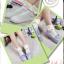 [พิเศษ 2 คู่ 100 ] ถุงเท้าพับข้อแต่งระบายน่ารักมีสีใหเลือก 5 สี thumbnail 8