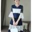 เสื้อผ้าแฟชั่นเกาหลี set เสื้อและกระโปรงน่ารักมากๆ thumbnail 1