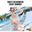 ชุดว่ายน้ำวันพีช พื้นสีขาว ลายลูกเชอร์รี่ สีแดง น่ารักมากๆ thumbnail 6