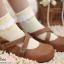 [พิเศษ 2 คู่ 100 ] ถุงเท้าระบายน่ารัก thumbnail 5