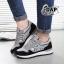 รองเท้าผ้าใบแฟชั่น ทรง Sport ลายเรียวสวย thumbnail 2