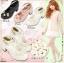 [พรีออเดอร์] รองเท้าโลลิต้าประดับดอกไม้ รองเท้าน่ารักๆ สำหรับสาวๆที่ชื่นชอบสไตล์โลลิต้าสุดชิค thumbnail 1