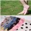 S291**พร้อมส่ง** (ปลีก+ส่ง) ถุงเท้าแฟชั่นเกาหลี ข้อสั้น ขอบงานถัก เนื้อดี งานนำเข้า(Made in china) thumbnail 1