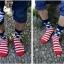ถุงเท้าเกาหลีลายธงชาติ thumbnail 2
