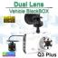 กล้องติดรถยนต์ Q3 Plus Dual Lens Vehicle BlackBox DVR ลดเหลือ 1,310 บาท ปกติ 3,280 บาท thumbnail 1