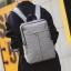 Pre-order กระเป๋าเป้สะพายหลัง ผู้ชาย แฟขั่นเกาหลี รหัส Man-1252-7 สีเทา thumbnail 1
