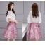 แฟชั่นเกาหลีสวยๆ set เสื้อ และกระโปรงสวยหวานครับ thumbnail 13