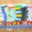 U039-3 **พร้อมส่ง** (ปลีก+ส่ง) ถุงเท้าเด็กโต ไม่มีกันลื่น วัย 6-8 ปี ข้อยาว เนื้อดี งานนำเข้า ( Made in China) thumbnail 1