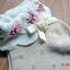 S389**พร้อมส่ง** (ปลีก+ส่ง) ถุงเท้าแฟชั่นเกาหลี พับข้อ แต่งขอบระบาย ประดับโบว์ เนื้อดี งานนำเข้า(Made in china) thumbnail 2