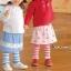 X008**พร้อมส่ง** (ปลีก+ส่ง) เลคกิ้ง กระโปรง เด็กหญิง วัย 1 -3 ปี แฟชั่นเกาหลี แพ็ค 6 ตัว เนื้อดี งานนำเข้า(Made in China) thumbnail 1