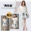 แฟชั่นเกาหลี set เสื้อและกระโปรง สวยสุดๆ thumbnail 4